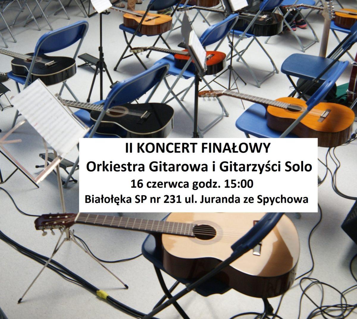 II Koncert Finałowy 16.06. godz.15:00