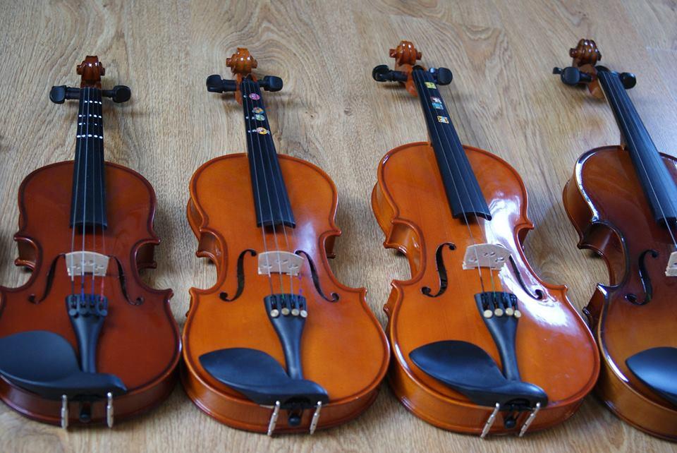 Kaucja za skrzypce