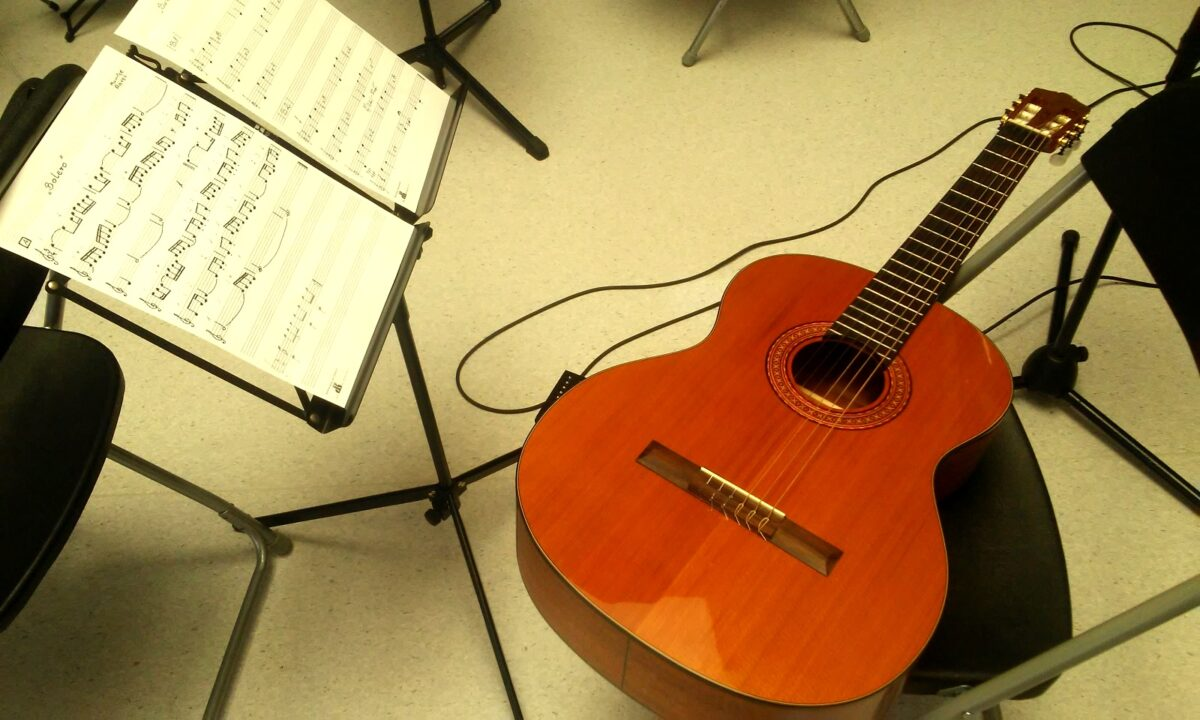 Lekcje gitary – wolne miejsca na Białołęce