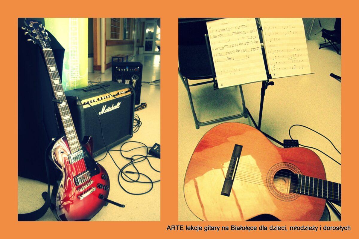 Zapisy na lekcje gitary na II semestr – są wolne miejsca
