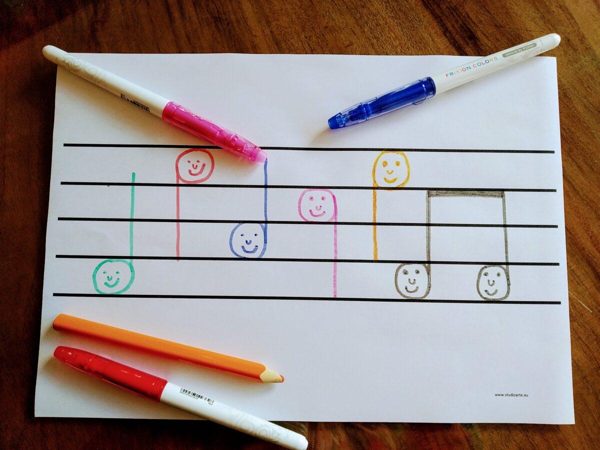 Zajęcia muzyczne dla przedszkolaków – nowy nabór od marca